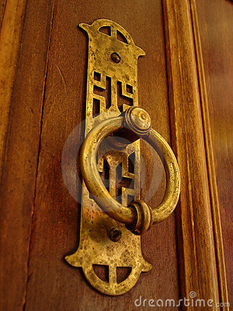 Old doorhandle
