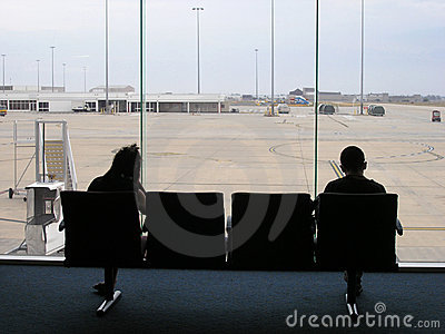 Airport Transit Lounge Pair
