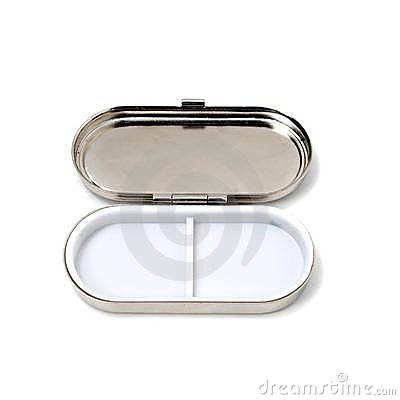 Open Pill Box