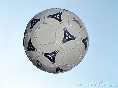 Soccer Ball in flight