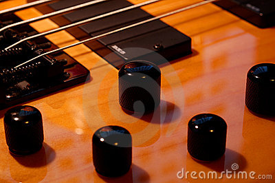 Five String Bass Up Knobs