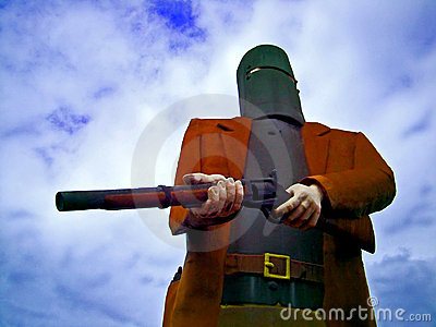 Statue Ned Kelly