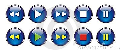 Web Buttons for DVD/VCR/CD
