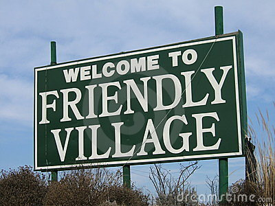 Welcome to friendly village