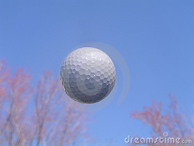 Golf Ball in Flight