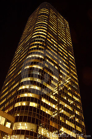 Night Skyscraper
