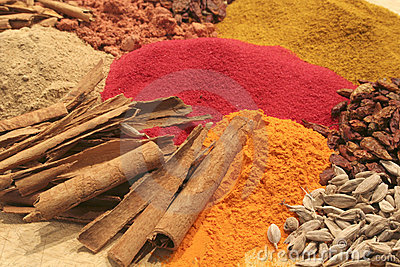 A close up of some spices II