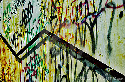Rusted Handrail