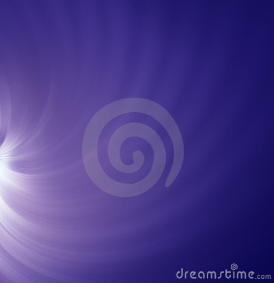 Light on blue background