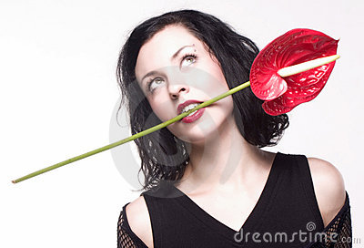 Flower in the mouth 2