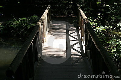Bridge in shadow