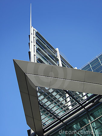 Angular modern building