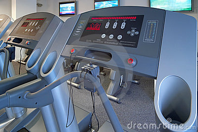 Gym treadmill exercise machines
