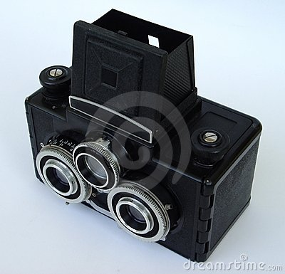 Old stereo camera