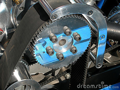 Automobile gear and belt