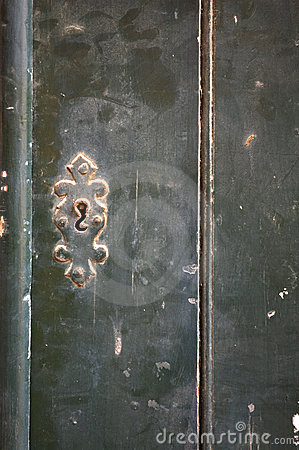 Old door - perfect grunge background