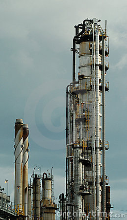 Detail of a refinery 6