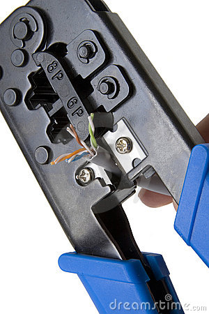 Network cable crimper 4
