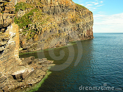 Geological Cliff Formation