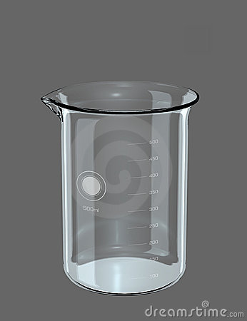 Graduated Beaker Empty