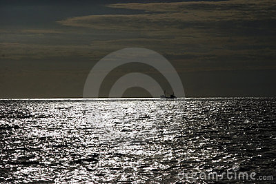 Twilight seascape