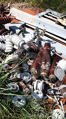 Iron and electric scrap polution