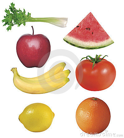 7 fruits and vegetables