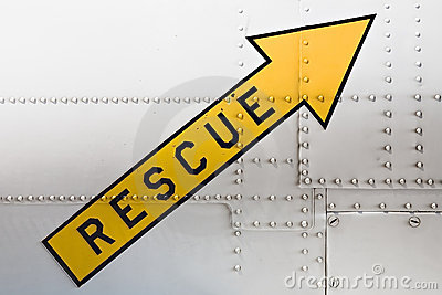 Rescue arrow