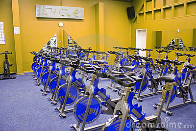 Fitness spinning bike