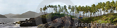 Coastline of goa