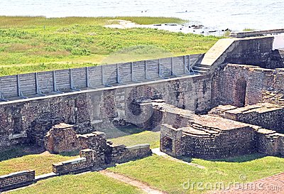 Fort Sumter: Officer`s Quarters & Powder Magazine