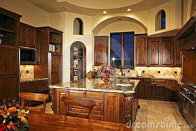 Large New Home Kitchen