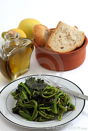 Greek wild greens or vlita