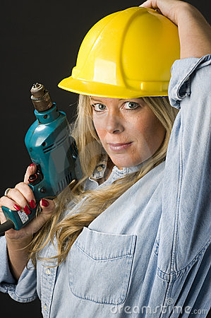 Home repair woman contractor