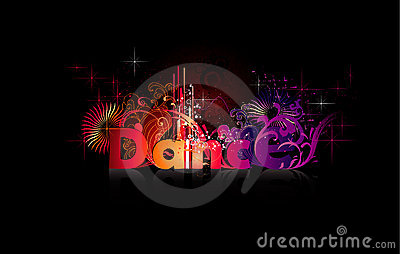 Dance vector word