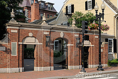 The 1857 Gate, Harvard University