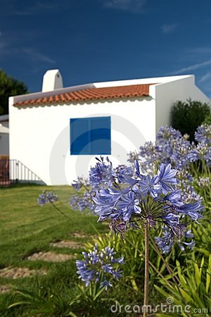 Typical house in the Algarve