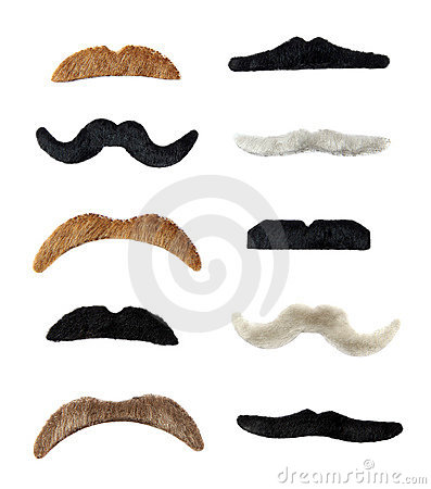 Isolated Moustaches