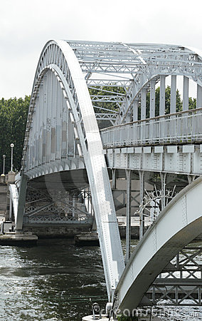 Bridge through Seine, Paris