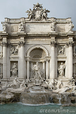 The Trevi Fountain - Rome