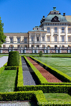 Drottningholm palace in Stockholm, residence of th