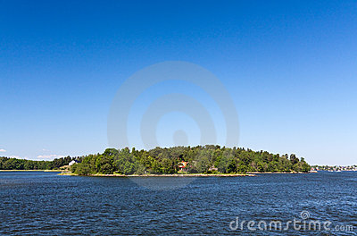 Lonely island in Sweden,Stockholm Archipelago
