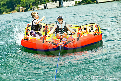 Family Fun on the Lake/Tubing