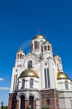 Yekaterinburg sacred  saints temple