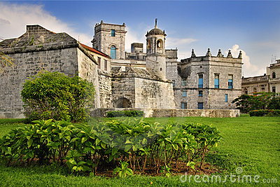 Royal Force castle in Old Havana