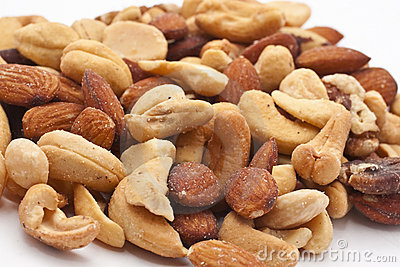 Close-up of mixed nuts