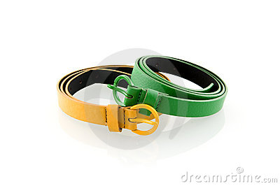 Green and yellow belt