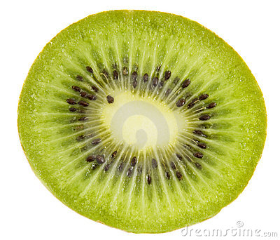 Fresh fruit kiwi slice