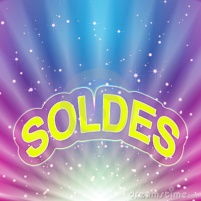 Soldes abstract background