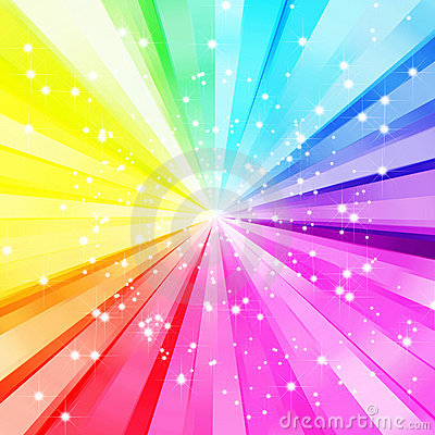 Sparkling colorful background